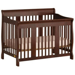 """Sears pine """"Tuscany"""" convertible crib.  Great condition."""
