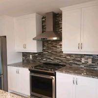 Backsplash installations