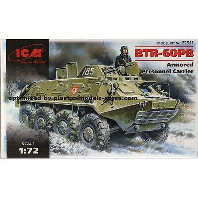 USSR ICM BTR-60PB 1//72 Cold War APC