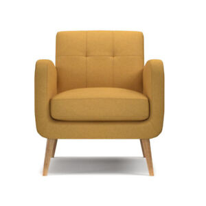 VALMY LOUNGE CHAIR YELLOW