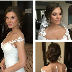 Bridal makeup artist and hairstylist $59up
