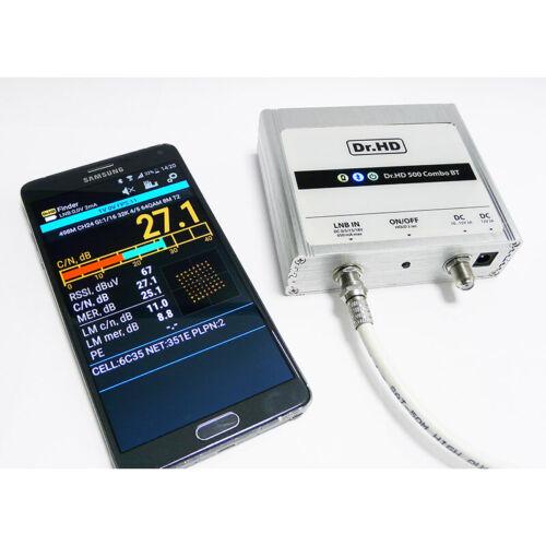 Dr.HD 500 Combo DVB-S/S2 T/T2 3/4G Sat Meter Real time Spectrum Analyzer Vsat