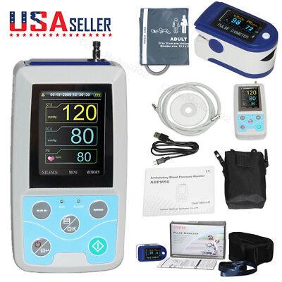 24hour Nibp Ambulatory Blood Pressure Monitor Sphygmomanometersspo2softwareus