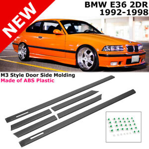 1992-1998 E36 BMW Coupe 3-Series M3 Trim Molding Mold Side Door Flush Moulding