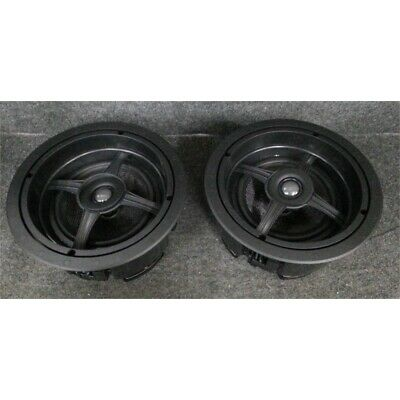 "Sonance MAG6R In-Ceiling Speakers 6"" 125 Watts Black/White 1 Pair"