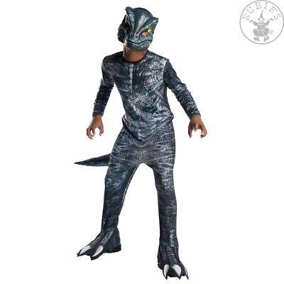 IAL 3641180 Velociraptor Blue Dino Dinosaurier Kinder Kostüm Jungen Karneval