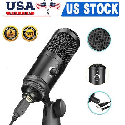 usb microphone mic kit condenser recording studio