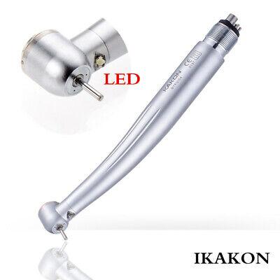 IKAKON Dental LED Self-power Supply High Speed Handpiece Push Button Big Head 4H