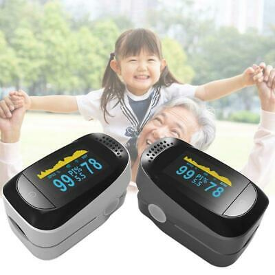 Protable Finger Clips Pulse Oximeter Fingertip Heart Rate Monitor Home Oxymeter