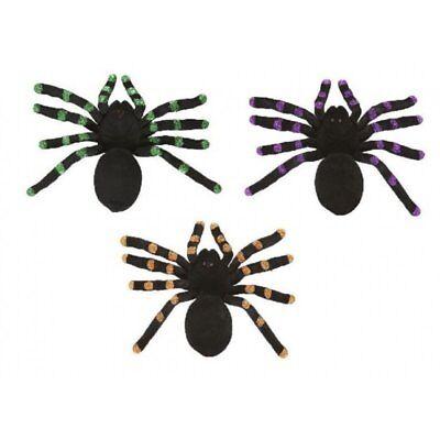Halloween Deko Spinne ca 21 cm Grusel Hexen Party Dekoration