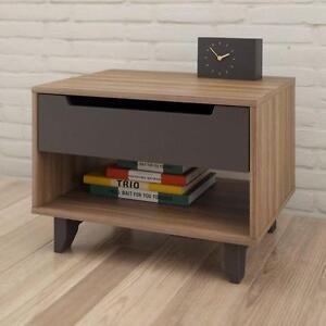 Nexera 340142 Alibi 1-Drawer Nightstand – Brand New