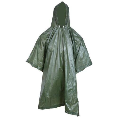 Mens Rain Coat Travel Hoodie Waterproof Poncho Hiking Gear S