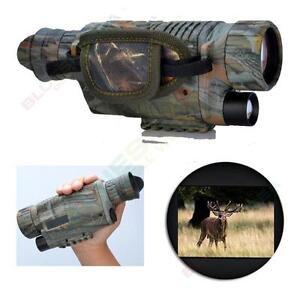 Night Vision Camera Goggles Monocular IR Security Surveillance Gen Hunting scope