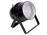 Black Floor Can Lights (single or pair) LEDJ 64