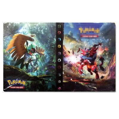 240 Cards Capacity Holder for Pokemon Cards Album Binder Folder Book List K