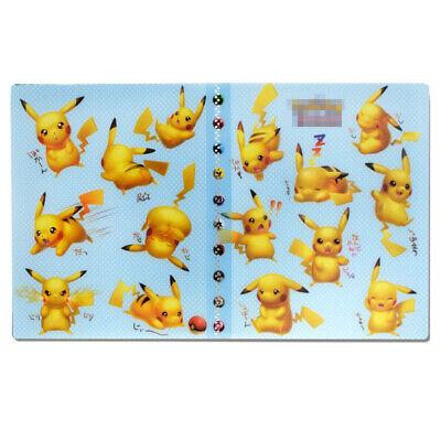 240 Cards Capacity Holder for Pokemon Cards Album Binder Folder Book List Yellow