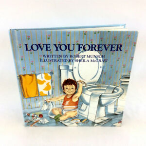 Love You Forever Book Hardcover Robert Munsch 2002 New Parents