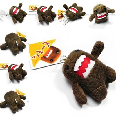 Best Selling For Domo Kun 8CM Plush Doll Toy Keychain Baby Kids Cell Phone