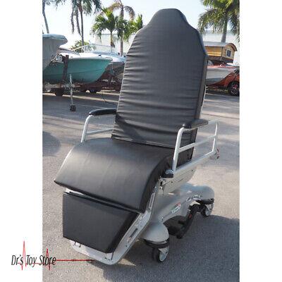 Stryker 5050 Stretcher Chair Gurney Patient Transport Black