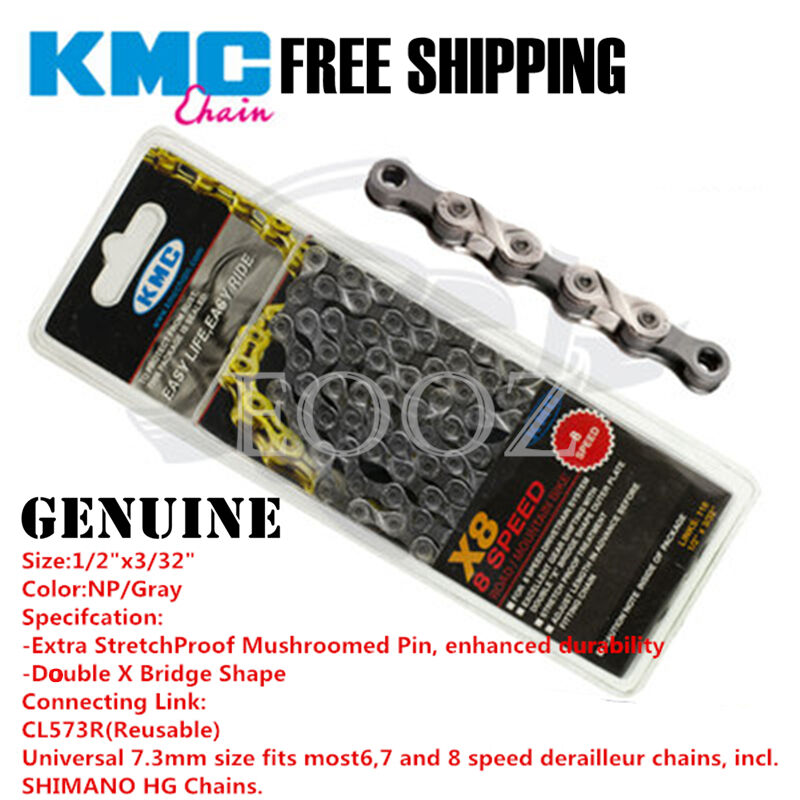 """Bicycle Chain w// Missing Link 116L For Shimano SRAM KMC Z51 5//6//7//8-Speed 3//32/"""""""