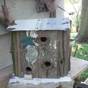 Rustic birdhouses  London Ontario image 2