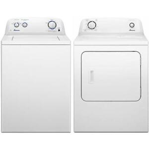 Amana NTW4516FW - YNED4655EW front load washer and dryer (BD-1632)