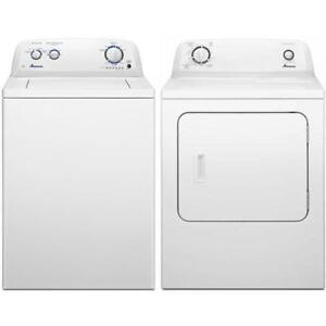 Amana NTW4516FW - YNED4655EW top load washer and dryer (BD-1632)