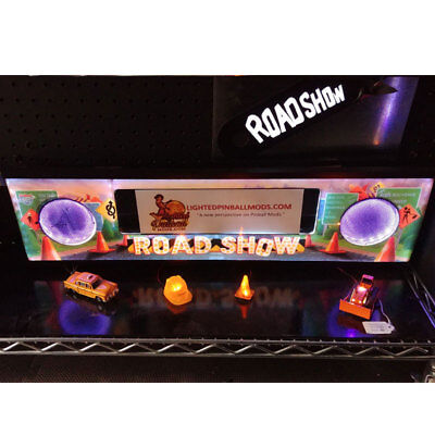 Road Show Williams Pinball Lighted Speaker Panel-ULTIMATE- LED Upgrade Kit