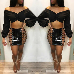 Side strap skirt available in S, M & L
