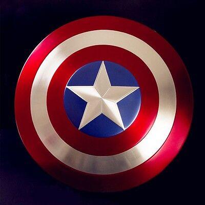 Captain America Metall Schild 1:1, Steve Rogers Metal Shield cosplay Kostüme Captain America Kostüme