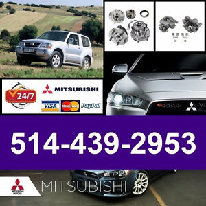 Mitsubishi Montero ■ Bearings, Calipers ► Roulements, Étriers