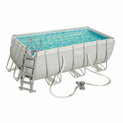 Piscina desmontable Bestway Power Steel 404x201x100cm con depuradora cartucho