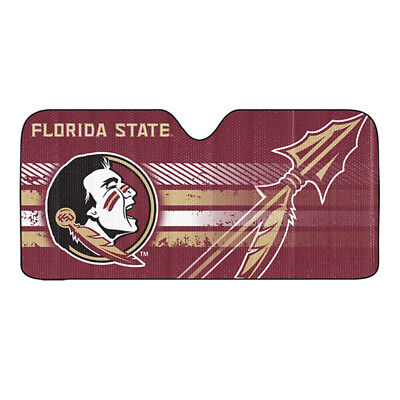 - New NCAA Florida State Seminoles Car Truck Windshield Folding SunShade Large Sz