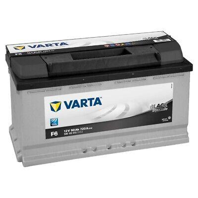 VARTA Black Dynamic Autobatterie F6 12V 90Ah ers. 74 77 83 88 92 Ah