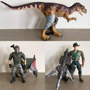 The Lost World Jurassic Park Action Figures Lot