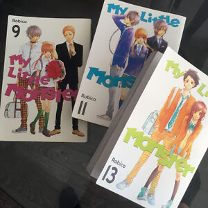 My Little Monster manga - Full collection! Volumes 1-13