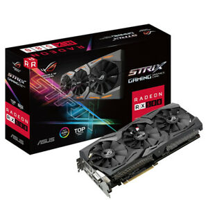 ASUS ROG Strix Radeon RX 580 T8G Gaming TOP OC Edition GDDR5