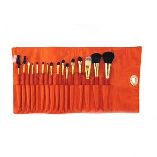 190a300444b9 Details about 16pcs Professional Makeup Brushes Set Face Eyebrow Lip Brush  For Beginners & Bag
