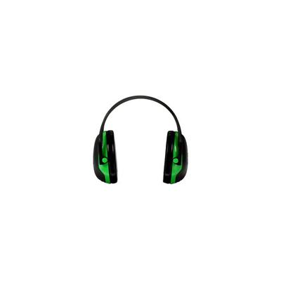 3M Peltor X-Series Over-the-Head Earmuffs, NRR 22 dB, One Si
