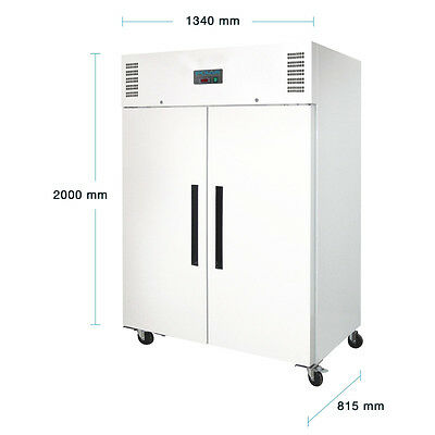 CC663 Gastronomie Kühlschrank 1200 Lagerkühlschrank Gewerbekühlschrank Lager