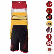 NCAA Official Team Replica Basketball Shorts Collection Adidas Youth Size (S-XL)