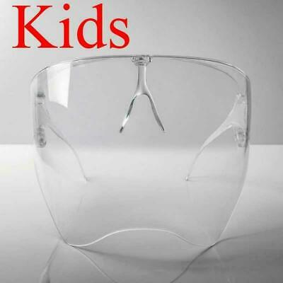 Kids Face Shield Transparent Glasses Protective Cover Safety Glasse Goggles Mask