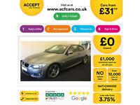 Grey BMW 320 2.0 Petrol 2010 i M Sport FROM £31 PER WEEK!