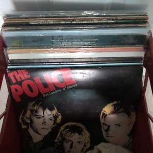 vintage vinyl record lps