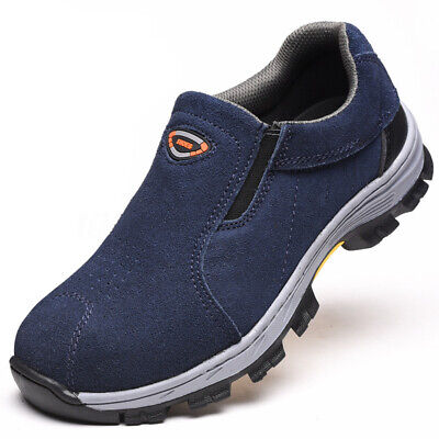 US Men Steel Toe Safety Shoes Work Boots Casual Hiking Climbing Sneaker