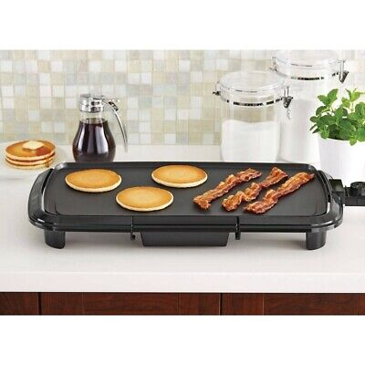 Countertop Griddle 20 Inch Best Electric Kitchen Griddles Dishwasher Safe SALE