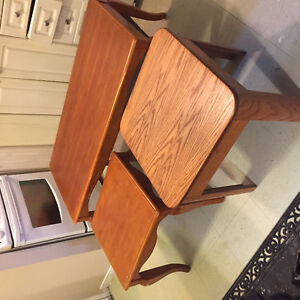 Coffee Table and 2 Small Tables
