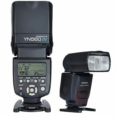 YONGNUO YN-560 IV Wrieless Speedlite Flash Light for Canon Nikon DSLR Camera US