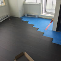 ***** LAMINATE FLOORING INSTALLATIONS *****