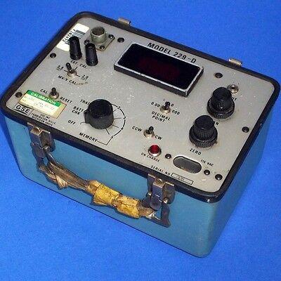 Gse Inc. 115vac Torque Calibrator 229-d Without Lid